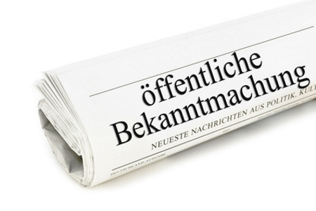 Bekanntmachung AFB 19-1