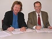 Landrat O. Stolz, Henriette Hindrichsen, Philipp Rogge ...